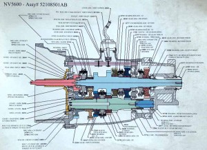 NV5600 Transmission Diagram