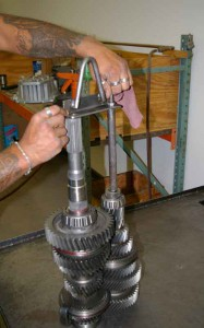 This lifting tool facilitates picking up the assembly without the components spreading apart.