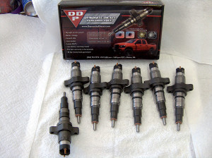 Six new DDP Stage 1 injectors