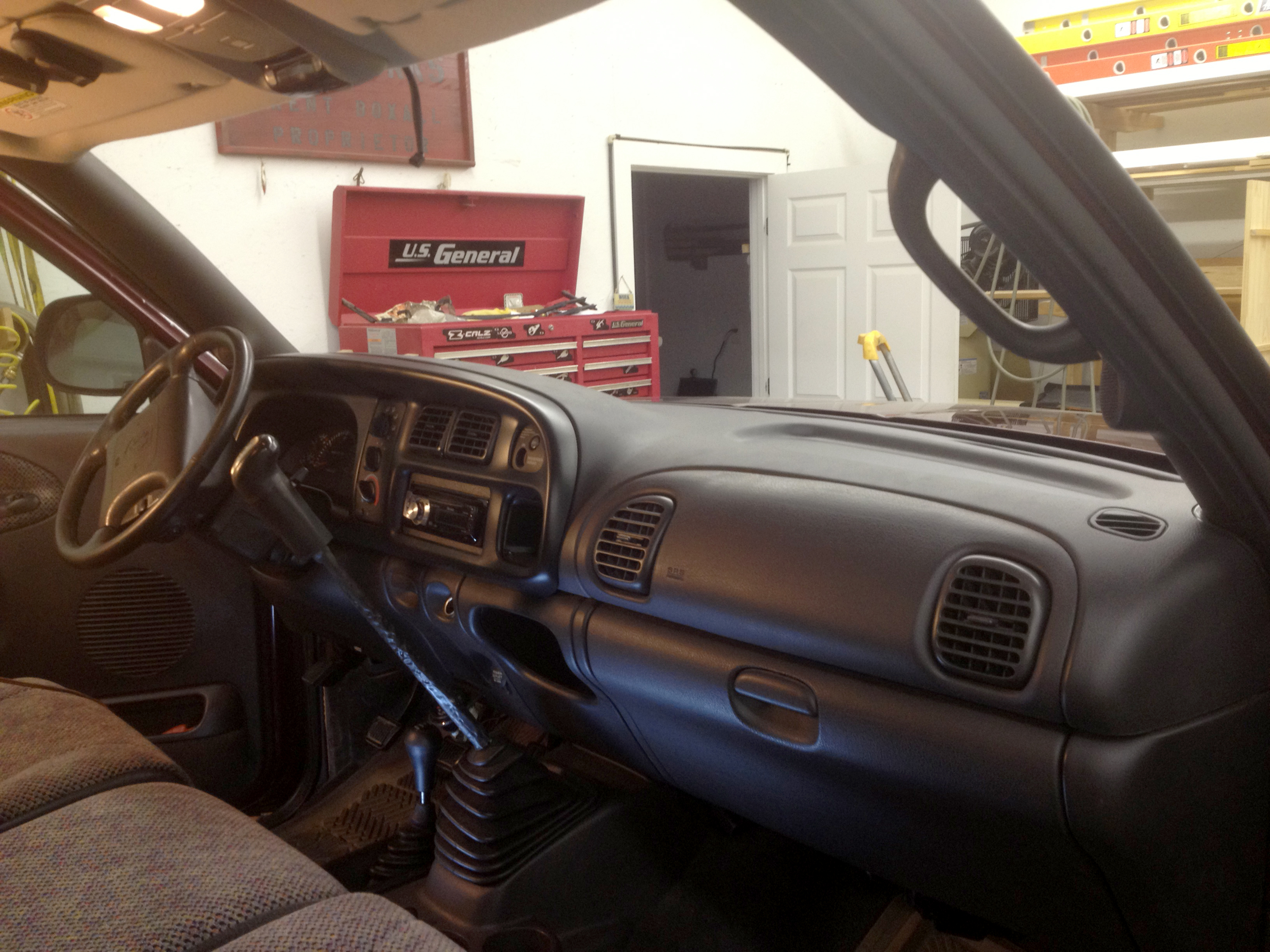 98 02 Dodge Ram Dash Installation Genos Garage 2500 Removal Img 0909