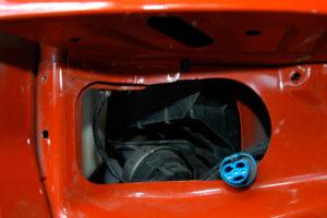 Dodge Ram Sport headlights cut out.
