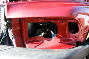 canadian ram truck needs sheetmetal cut for sport headlights