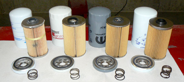 Dodge Cummins cellulose style oil filters.