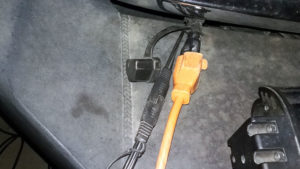 In cold weather, a block heater gets plugged in 6-12 hours before engine start-up.