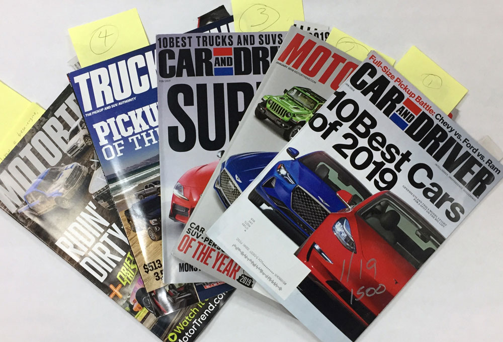 Ram 1500 EcoDiesel Magazine Collection
