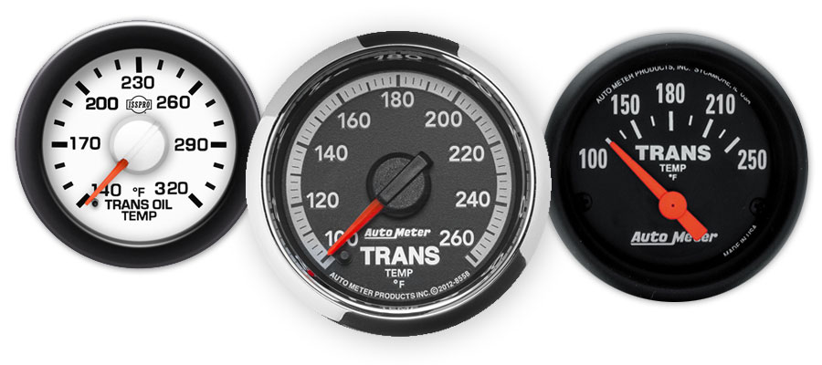 Transmission Temp Gauges