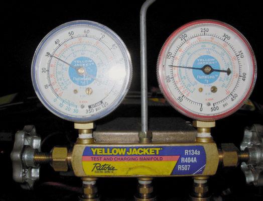 HVAC Charging Gauges