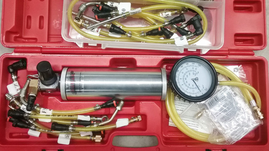 The SUR&R FIC203 Injection  Cleaner Kit