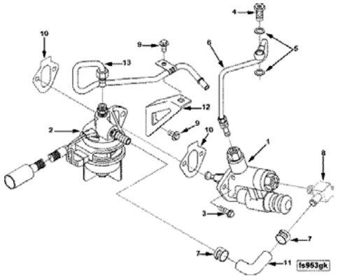 1998 12V Fuel Pump