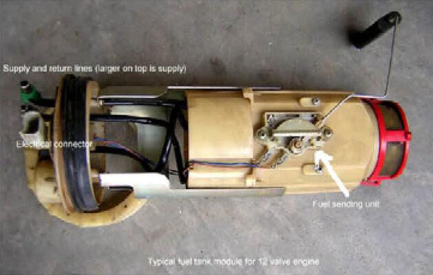 Fuel module.