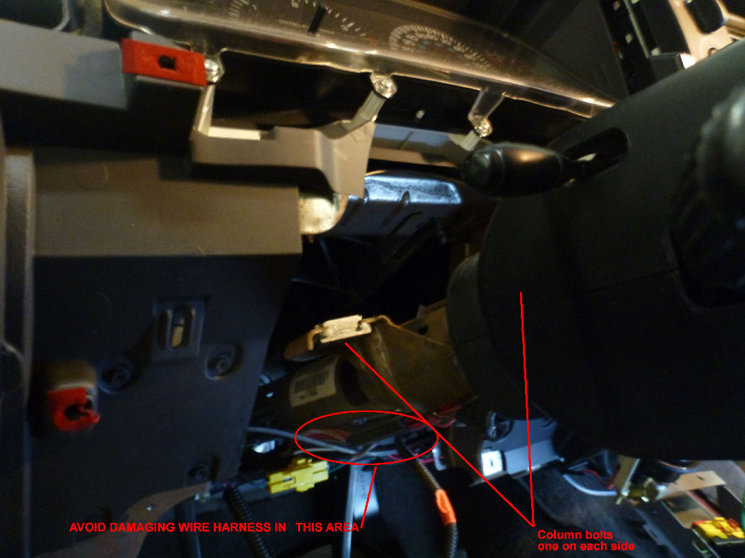 98 02 Dodge Ram Dash Installation Genos Garage Wiring Harness Disconnect The Vacuum Connector Under Near Center As Shown Below