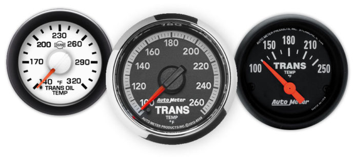 Transmssion Temp Gauges